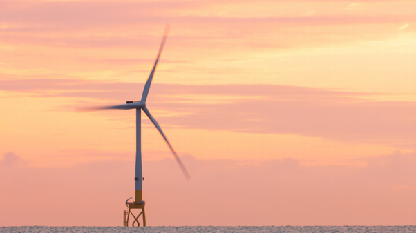Wind Turbine and jacket structure offshore
